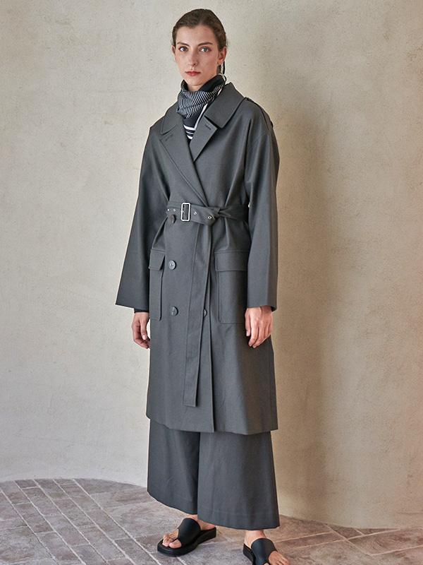BACK TUNNEL COAT_FOREST GREEN