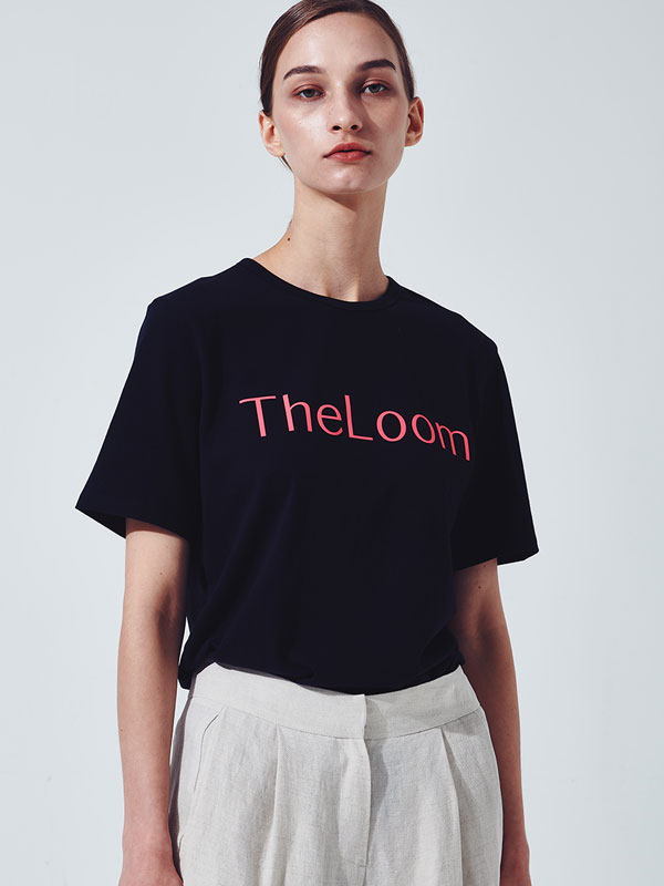 [30%SALE]Theloom logo t-shirt_black