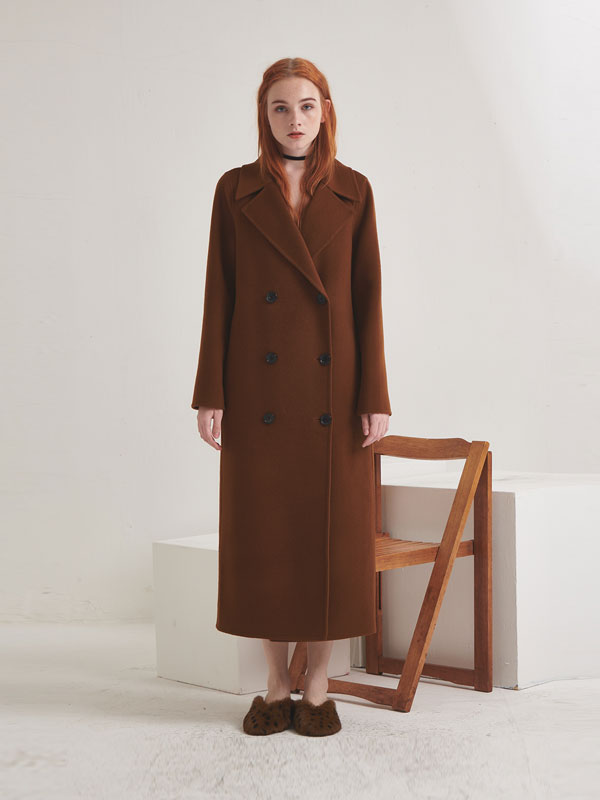 Double long coat_2color