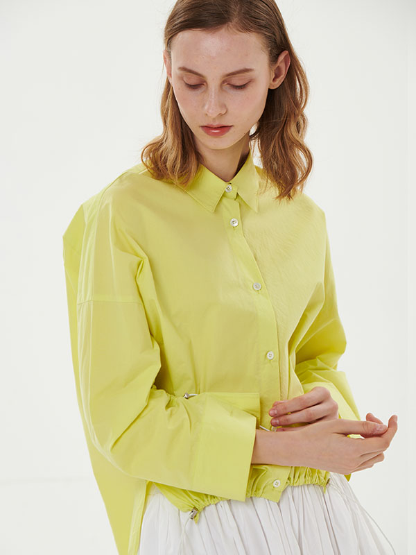 STRING SHIRT_LIME
