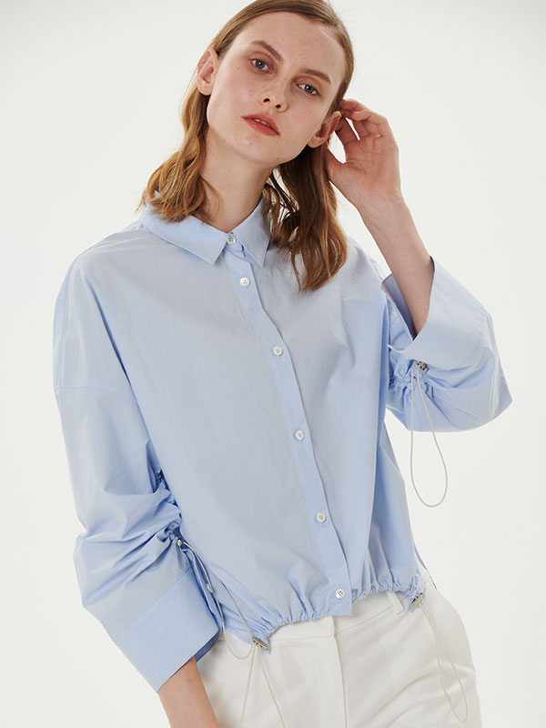 STRING SHIRT_BLUE