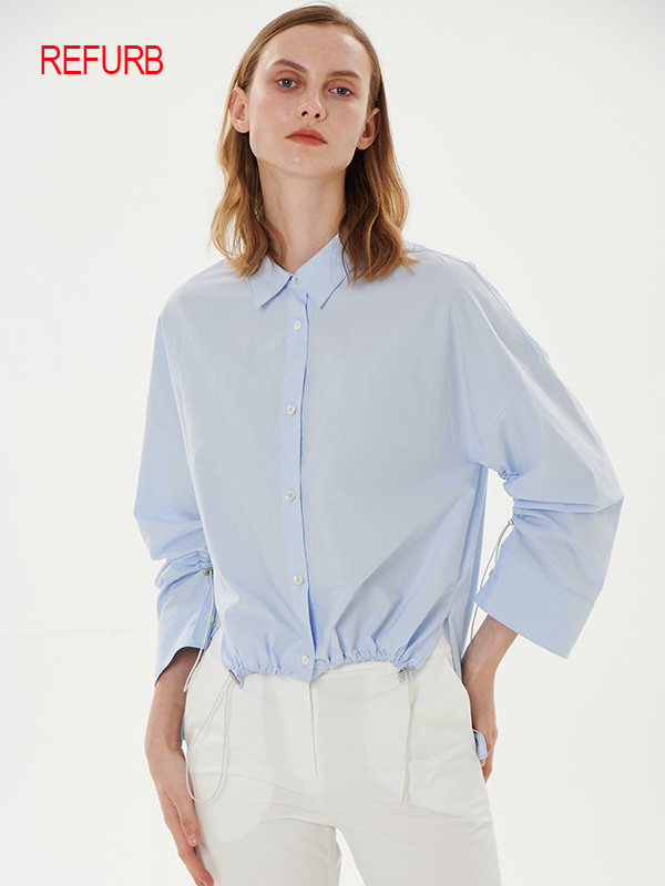 [REFURB]STRING SHIRT_LIGHT BLUE