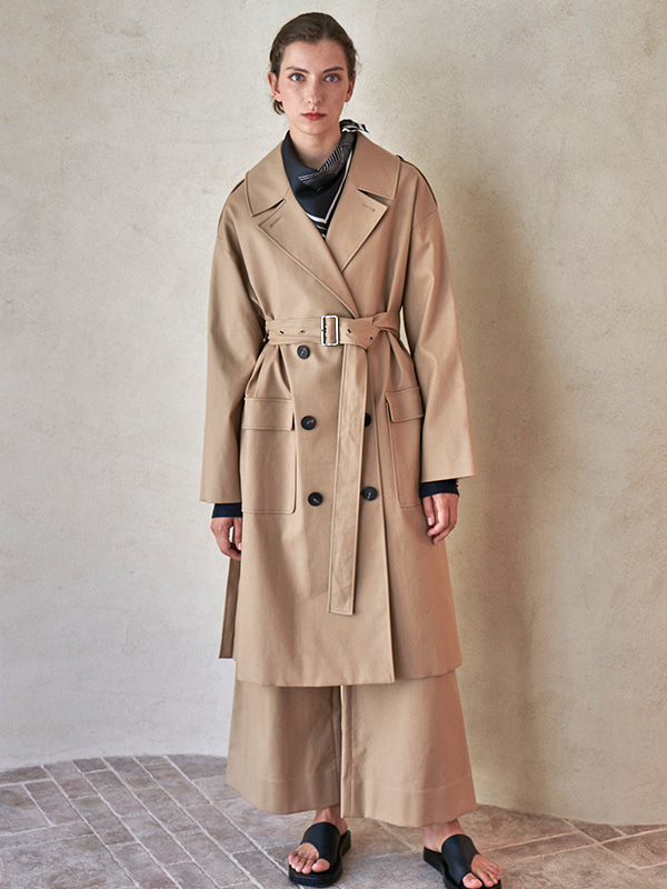 BACK TUNNEL COAT_BEIGE