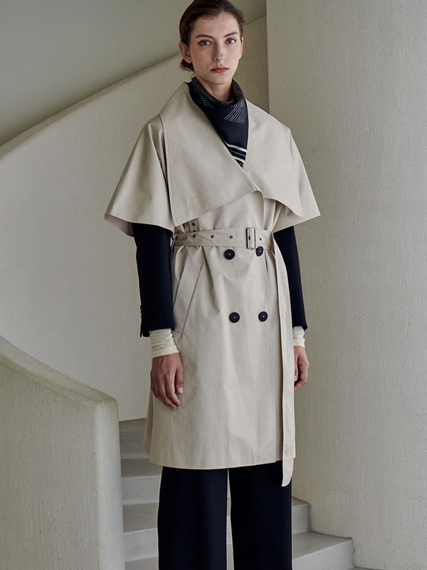 LOWNECK TRENCH CAPE_IVORY